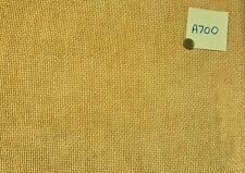 A700 Chunky weave cushion/curtain throw fabric 58 x 125 inches(3 metres)caramel