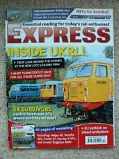 RAIL EXPRESS magazine No.223 Dec 2014 - UK Rail Leasing operations at Leicester