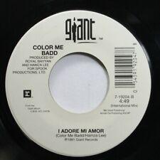 Soul 45 Color Me Badd - I Adore Mi Amor / I Adore Mi Amor On Giant