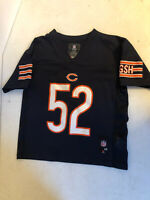 Khalil Mack #52 Chicago Bears Football NFL Youth Jersey Kids Size Medium 5/6