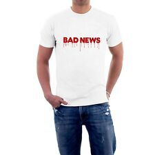 BAD NEWS TOUR T-shirt Four Horsemen of Rock Apocalypse Comic Strip Tee Sillytees