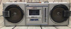 JVC RC-670 670JW Stereo Cassette Player Music Radio Boombox Ghetto Blaster Japan