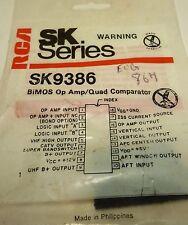 SK9386 / COMPARABLE TO ECG867, NTE867 / BIMOS OP AMP / 1 PIECE (qzty)