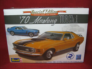 1970 Ford Mustang Mach 1 Special Edition 70 Custom Revell-Monogram 1:24 Kit 4203