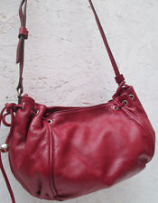 -AUTHENTIQUE sac bandoulière  GERARD DAREL cuir TBEG vintage bag