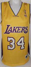 Original Champion Los Angeles Lakers NBA Trikot Jersey Nr. 34 Shaq O Neal Gr. S