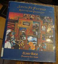 Santa Fe Fantasy Quest For The Golden City Elmo Baca 1994 First Ex Library Copy