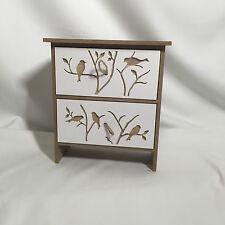 2 Drawer Mini Standing Storage/Trinket Box