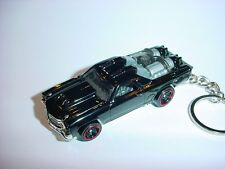 Nuevo 3D Negro Chevrolet el Camino Custom Llavero Llavero Ss Bling !!