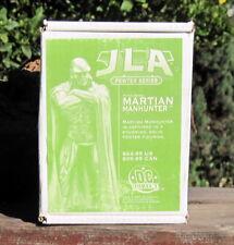 2000 DC Direct Comics JLA Pewter Series Martian Manhunter in a Cape   MIB
