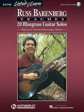 Russ Barenberg Teaches 20 Bluegrass Guitar Solos Book & Online Audio LISTEN & LE