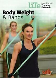 CATHE FRIEDRICH LITE SERIES BODY WEIGHT AND BANDS DVD WORKOUT NEW