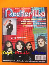 rivista ROCKERILLA 263/2002 Vines Oasis Primal Scream Punkreas Piano Magic *NOcd