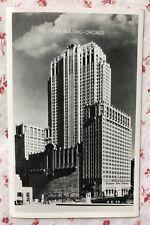 Vintage UNUSED RPPC The Opera Building ~ Chicago B&W Postcard