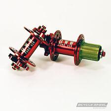 Pure XCR MTB Disc Red Hub Set, Mountain Bike, Sealed Bearing 8/9/10 Speed 32H