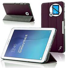 Cuir Violet Housse Samsung Galaxy Tab E 9.6 T560 Protecteur D'écran Stylet