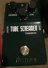 Ibanez TS808HW Hand-Wired Tube Screamer Limited Edition Overdrive Guitar Pedal