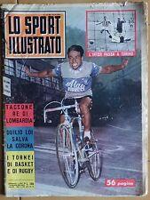 Lo sport illustrato n.43  1961  Taccone - Duilio Loi - Inter - Torino