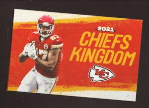 Kansas City Chiefs--Travis Kelce--2021 Pocket Schedule--HyVee