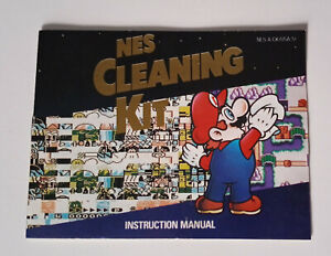 NES Cleaning Kit - Nintendo - Instruction Manual Only