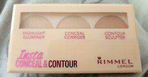 Rimmel 010 Conceal & Contour Palette - light