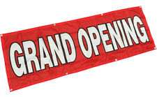 2x6 ft -Grand Opening Banner Sign Polyester Fabric rb