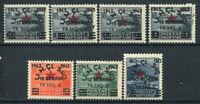 Albanien 1945 Mi. 368-374 Postfrisch 100% Aufdruck