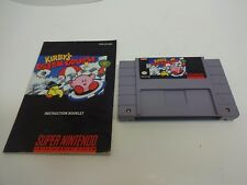 Kirby's Dream Course SNES Super Nintendo Video Game Cartridge