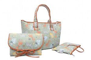 Safari Wickeltasche Set - Shopper Bag