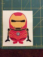 Iron Man Minion Sticker Decal