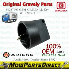 Ariens Gravely OEM Ignition Key 09287000 with cover ORIGINAL FAST SHIPPING
