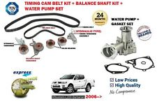 FOR MITSUBISHI L200 BARBARIAN 2.5 DID TIMING CAM BELT + BALANCE SHAFT KIT + PUMP