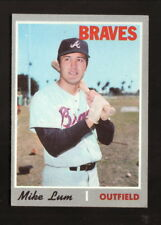 Mike Lum--Atlanta Braves--1970 Topps Baseball Card
