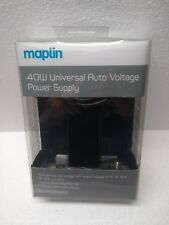 Maplin 40W Universal Auto Voltage Power Supply WITH 12 Tips