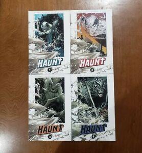HAUNT Vol. 1 2 3 4 Image Comics 2010 TPB GN SC OOP UNREAD Kirkman McFarlane