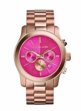 BRAND NEW LADIES MICHAEL KORS ROSE GOLD CHRONOGRAPH WATCH MK5931
