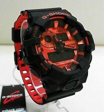 Casio G-Shock GA-700BR-1A Orange and Matte Black Ana Digi World Time Watch