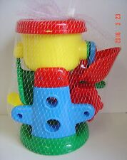 3 PC Set TODDLER Beach GARDEN TOYS Sand Machine Shovel Red YELLOW Blue Water