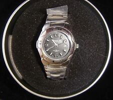 Mens Watch, Stainless Steel Back ,Silver Band