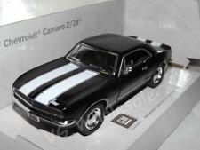 """1967 Chevrolet Camaro Z/28 Black DieCast Metal Model Car 5"""" New In Box"""