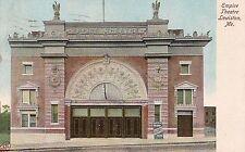 Empire Theatre in Lewiston ME Postcard 1908