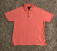 OP Ocean Pacific Polo Shirt Mens Large Cotton Rayon