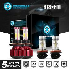 New listing H13 H11 Combo Led Headlight For Nissan Sentra 04-12 Hi-Lo Beam Fog Lights Bulbs