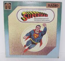 Superman ~ Golden Age  ~ Golden Age Records ~ Original Radio Broadcast ~ 1977