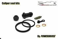 Suzuki DR 600 front brake caliper seal rebuild kit 1985 1986 1987 1988 1989