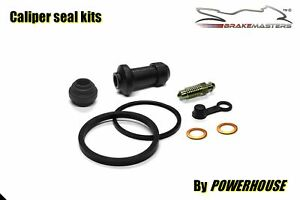 Suzuki DR 600 front brake caliper seal rebuild kit 1985 1986 1987 1988 1989