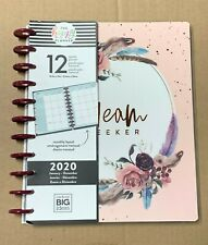 The Happy Planner - Dream Seeker 2020 12 Month LARGE Planner | Monthly Layout