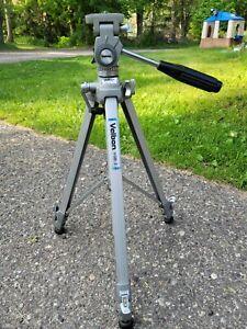 VELBON VGB-3 Photographer's Tripod Aluminum Adjustable 3-Way Pan/Tilt