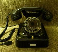 Jubiläum! 60! W48 altes Telefon Bakelit HEIBL Telephone   W48