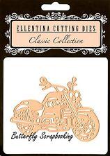 MOTORCYCLE #2 Die Motor Bike Ellentina Craft Cutting Dies DCM294 New